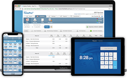 Timesheets - Time tracking and Web Timesheet