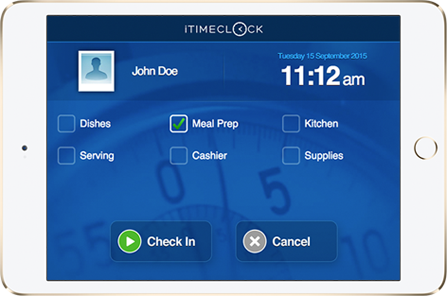 Time Clock Job Level Tracking